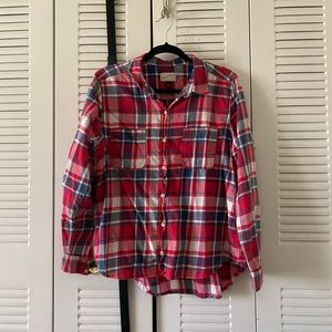 Universal Thread Plaid Button Down